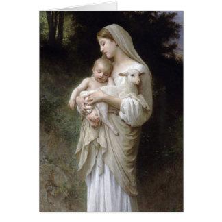 Carte L'Innocence, William-Adolphe Bouguereau