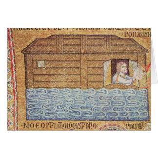Carte L'inondation, de l'oreillette, coordonnée de Noé