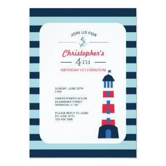 Carte L'invitation de phare