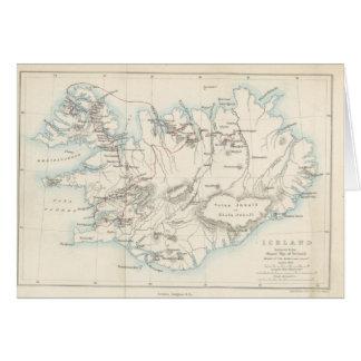 Carte L'Islande
