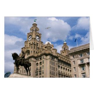 Carte Liverpool - bâtiment de foie
