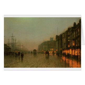 Carte Liverpool de Wapping par John Atkinson Grimshaw