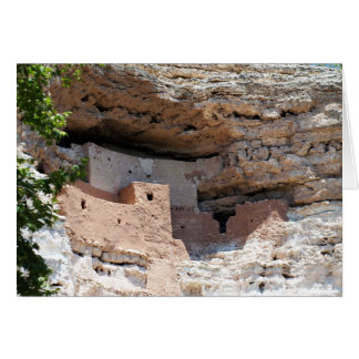 Carte Logement de falaise de château de Montezuma -