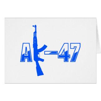 Carte Logo Blue.png de fusil d'assaut d'AK-47 AKM