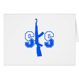 Carte Logo Blue.png de fusil d'assaut de SKS