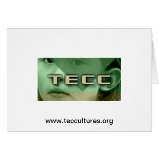 Carte Logo de petite fille de TECC