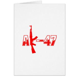 Carte Logo Red.png de fusil d'assaut d'AK-47 AKM