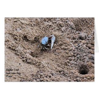 Carte Loin de la maison !  Crabe de violoneur