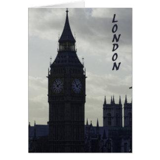 Carte Londres - Big Ben