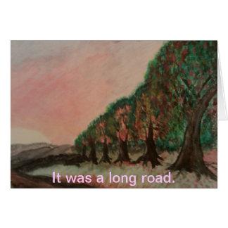 Carte longue route