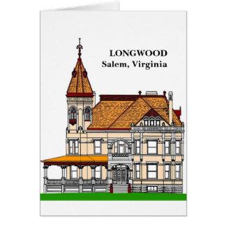 Carte LONGWOOD - Salem, la Virginie
