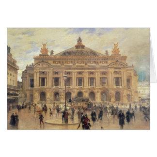 Carte L'Opera, Paris