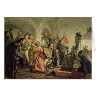 Carte L'Oprichnina à la cour d'Ivan IV