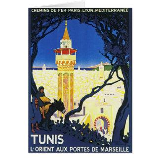 Carte ~ L'Orient Portes aux. De Marseille de Tunis