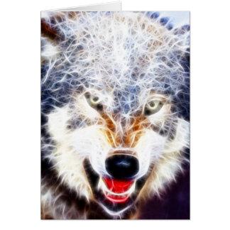 Carte Loup arctique