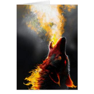 Carte Loup du feu