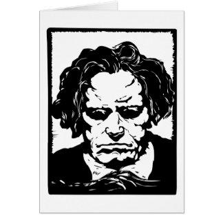 Carte Ludwig van Beethoven - compositeur allemand