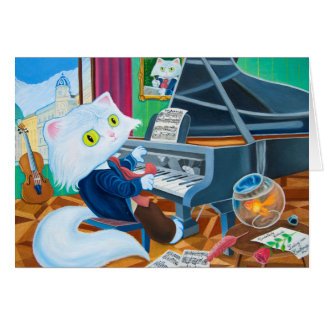 Carte «Ludwig vont Caathoven» Greeting Card