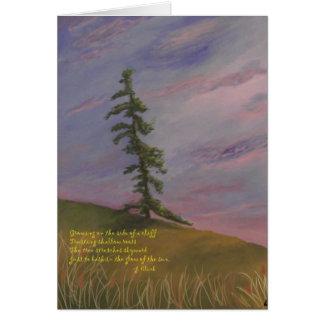 Carte Lueur d'arbre