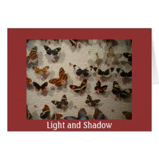 Carte Lumière et ombre