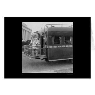 Carte Lune riche 1925 du chef indien deux