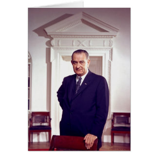 Carte Lyndon B Johnson