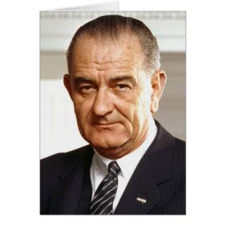 Carte Lyndon B. Johnson 36