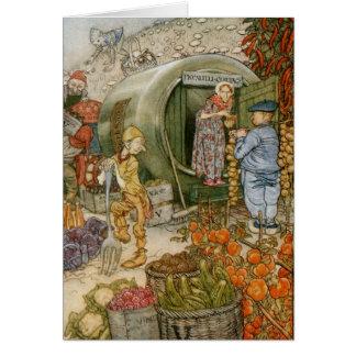 Carte M. et Mme Vinegar et histoire anglaise