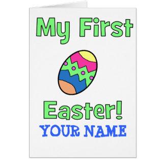 Carte Ma première Pâques !