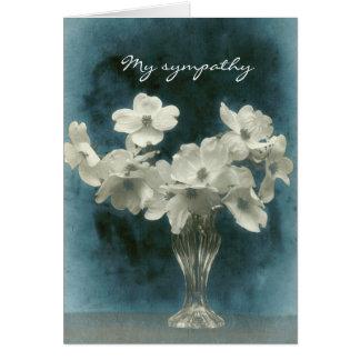 Carte Ma sympathie : Le cornouiller fleurit (la photo à