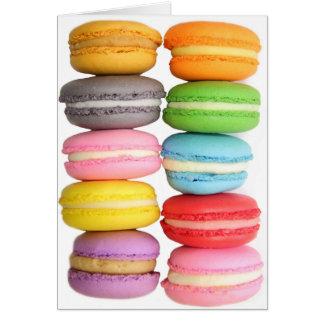Carte Macarons
