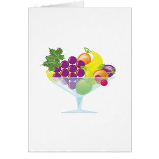 Carte Macédoine de fruits