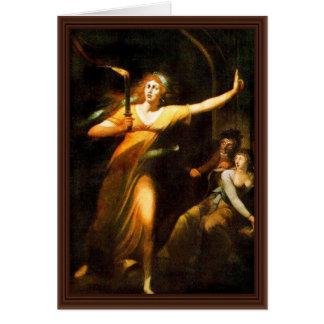 Carte Madame Macbeth By Füssli Johann Hei de