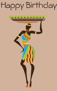 Carte De Fete Afrique.Cartes Africain D Anniversaire Zazzle Be