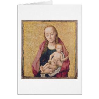 Carte Madonna et enfant 2