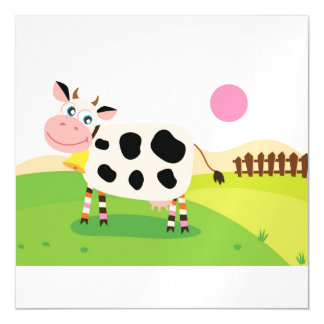 Carte magnétique : avec la vache