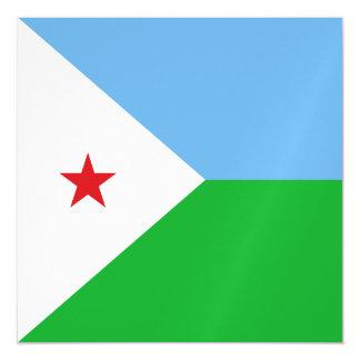 Carte Magnétique Drapeau de Djibouti