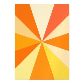 Carte Magnétique Rayons 60s géométriques géniaux modernes d'art de