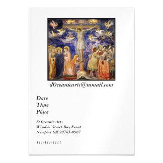 Carte Magnétique Scène médiévale de Vendredi Saint