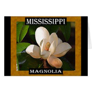 Carte Magnolia du Mississippi