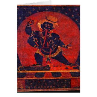 Carte Mahakala, 12ème siècle