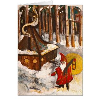Carte Maison de gnome