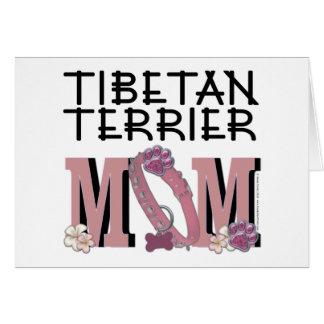 Carte MAMAN de Terrier tibétain