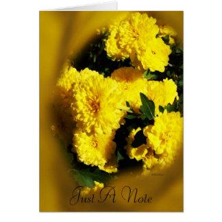 Carte Mamans jaunes