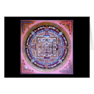 Carte Mandala de Kalachakra