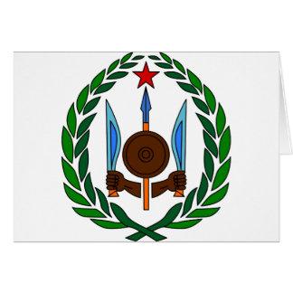 Carte Manteau de Djibouti des bras