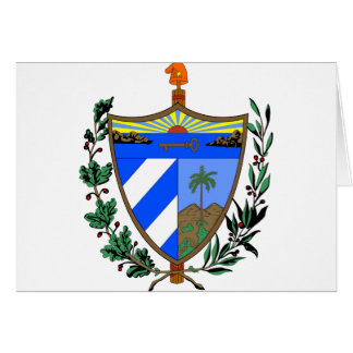 Carte Manteau du Cuba des bras