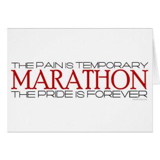 Carte Marathon - la fierté est pour toujours - meilleur