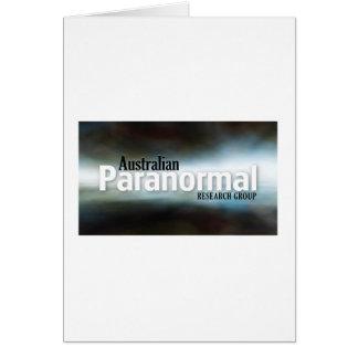 Carte Marchandises paranormales australiennes de groupe