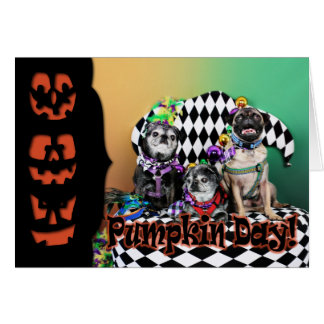 Carte Mardi gras 2015 de Pugsgiving - Wendy Madison